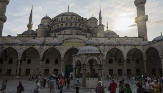 Голубая мечеть (мечеть султана Ахмеда), что посмотреть в Турции, тур, достопримечательности, мечеть